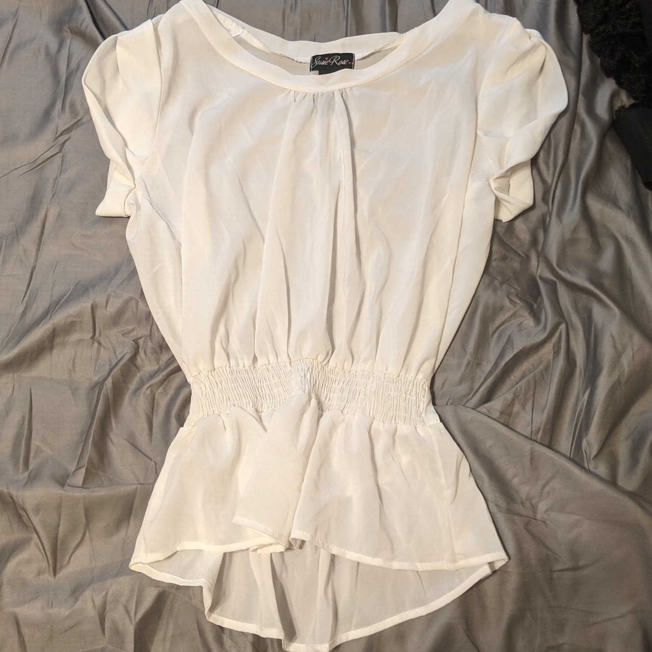 Product Image 1 - Susie Rose White Blouse XL