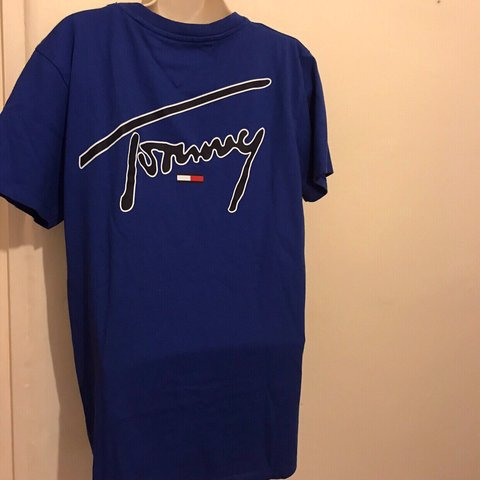 0559d16d52b @snazzyperry. 8 days ago. Hereford, United Kingdom. Tommy Hilfiger T Shirt  SUPER SALE Perfect condition. Never worn.