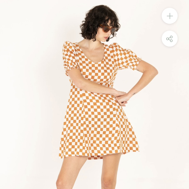 Product Image 1 - Holiday the Label checkered dress.