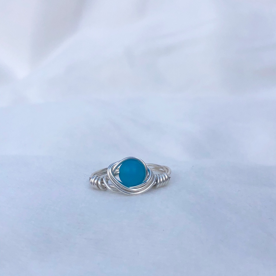 Product Image 1 - Blue Stone Ring - one ring