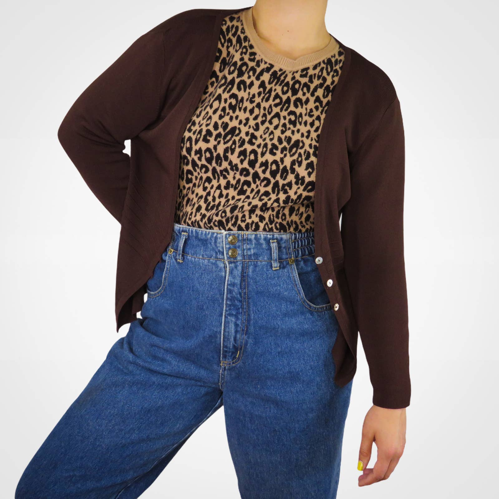 Product Image 1 - Y2k Cardigan. Brown Cardigan with