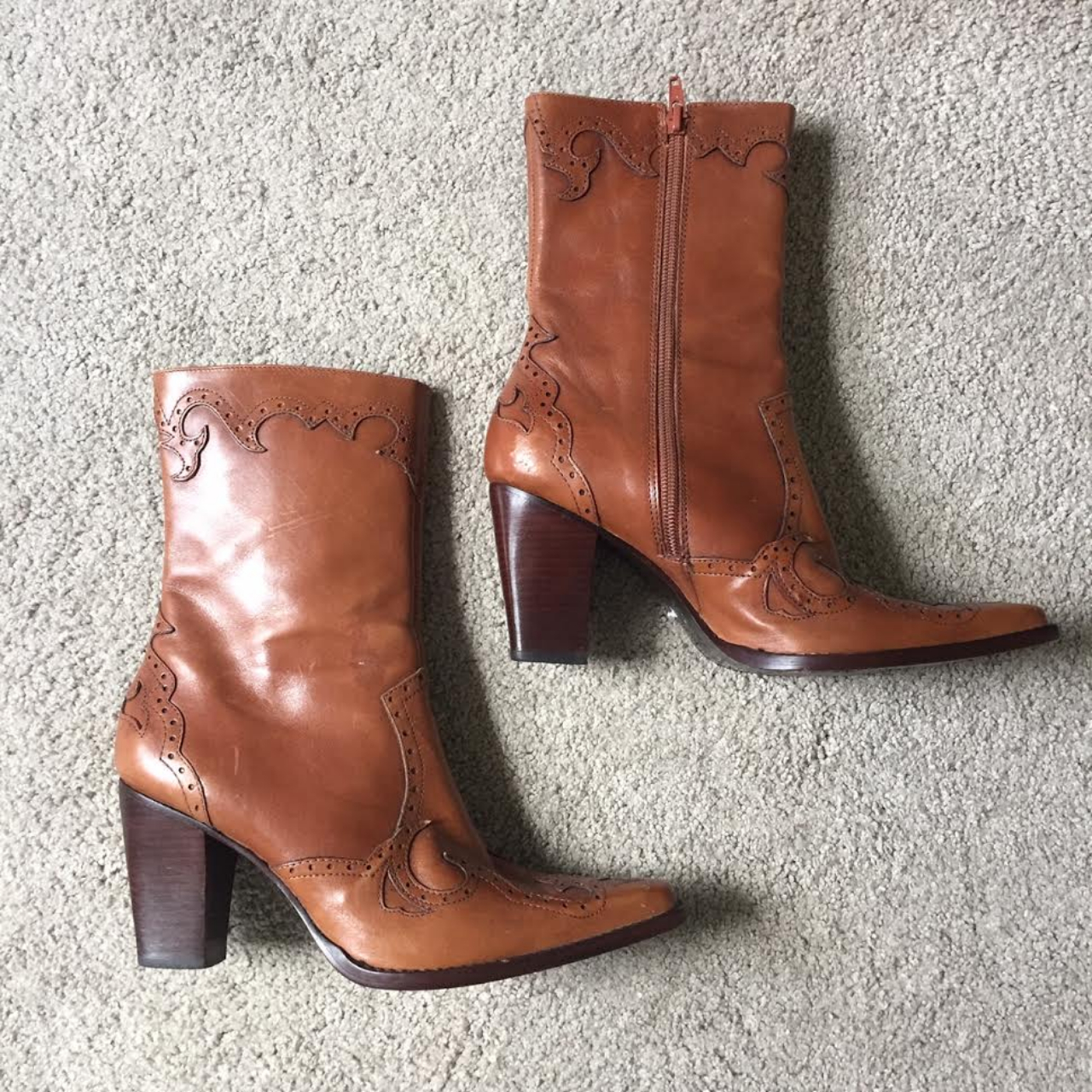 Product Image 1 - Beautiful Eddie Bauer boots with