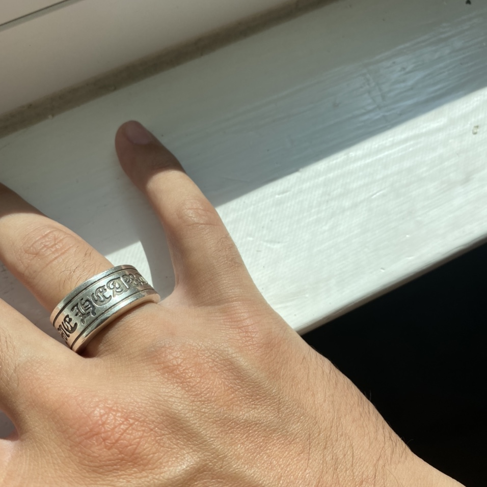 Product Image 1 - Chrome Hearts Scroll Ring   Some