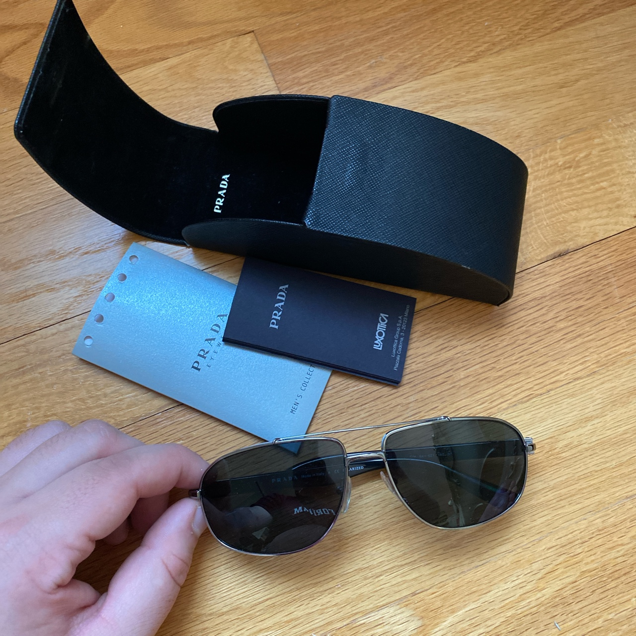 Product Image 1 - PRADA SUNGLASSES! Authentic and comes