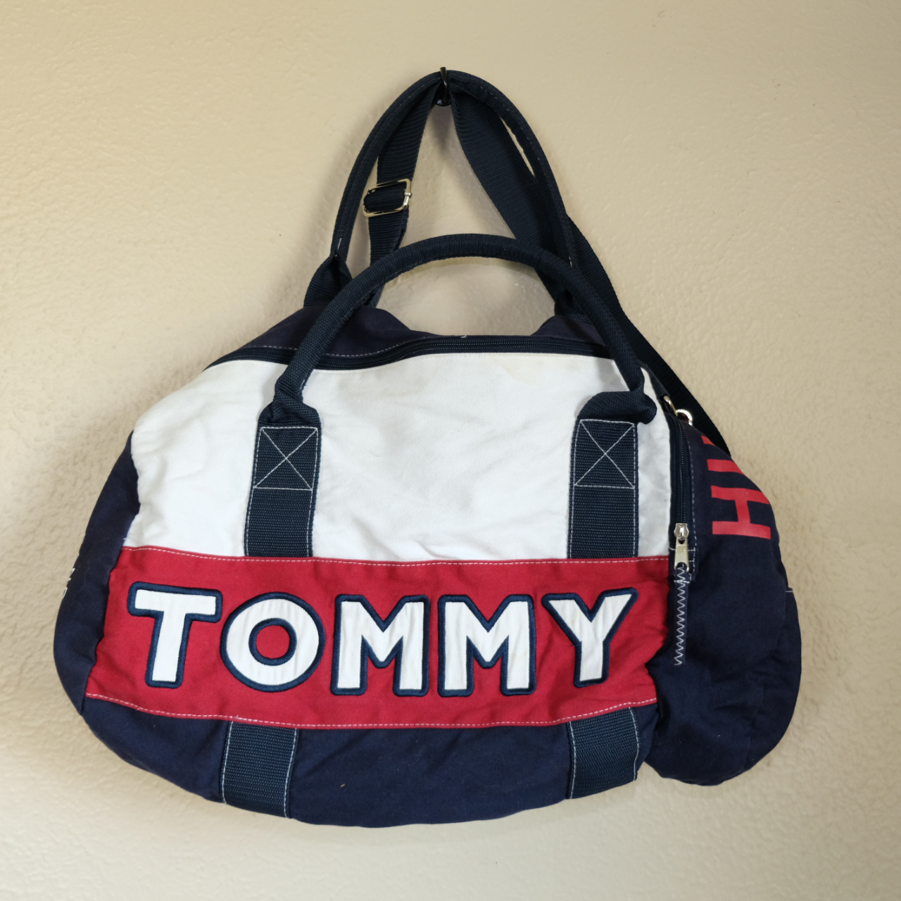 Product Image 1 - Pre-Loved Tommy Hilfiger Colorblock Duffle