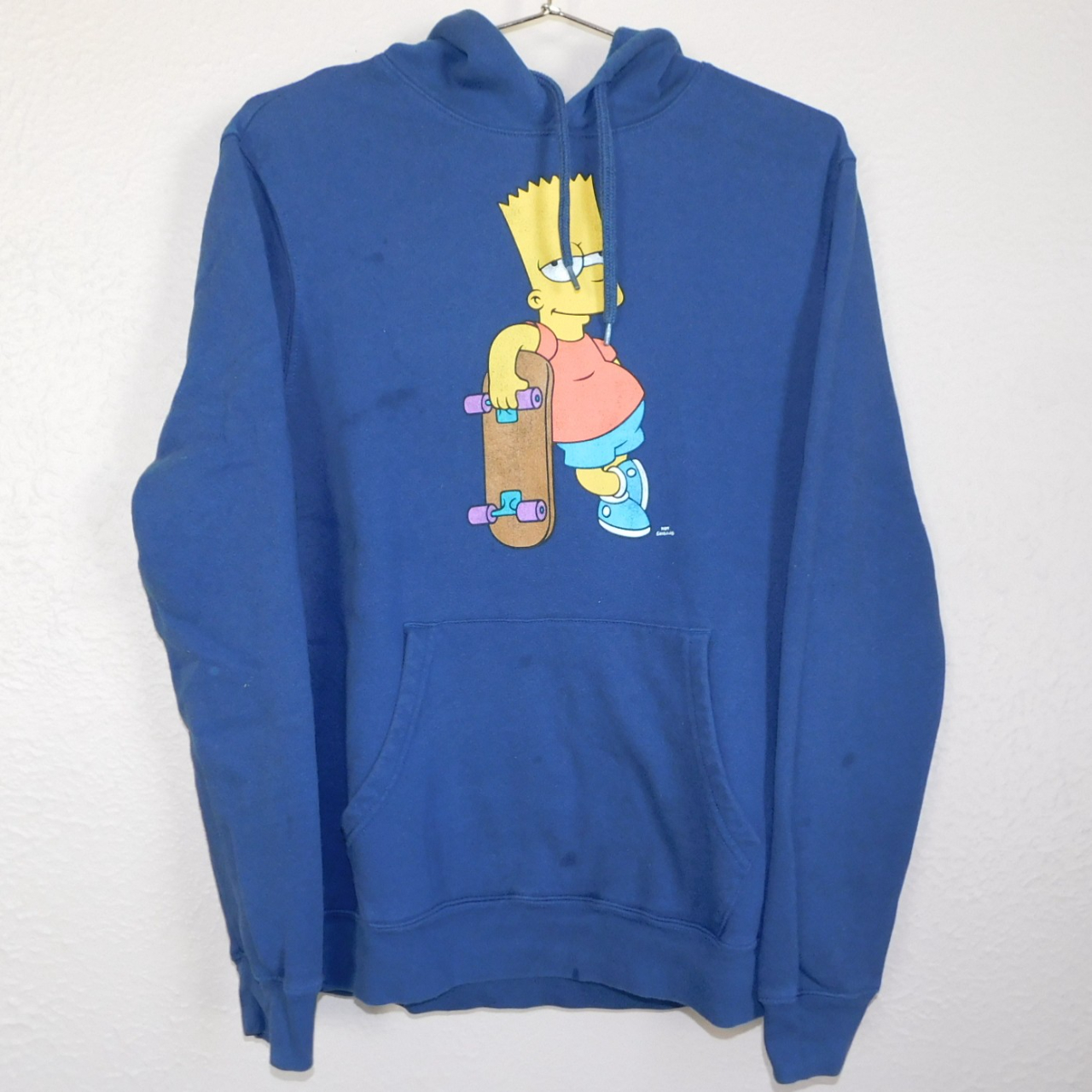 Product Image 1 - Pre-Loved Bart Simpson Skateboard Navy