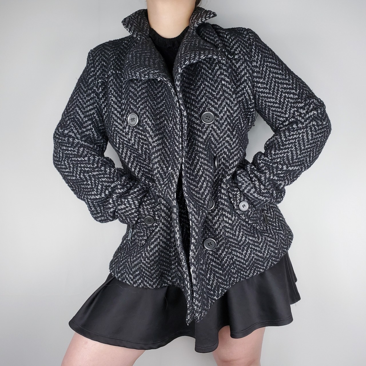 Product Image 1 - Black Peacoat | Speckled Peacoat