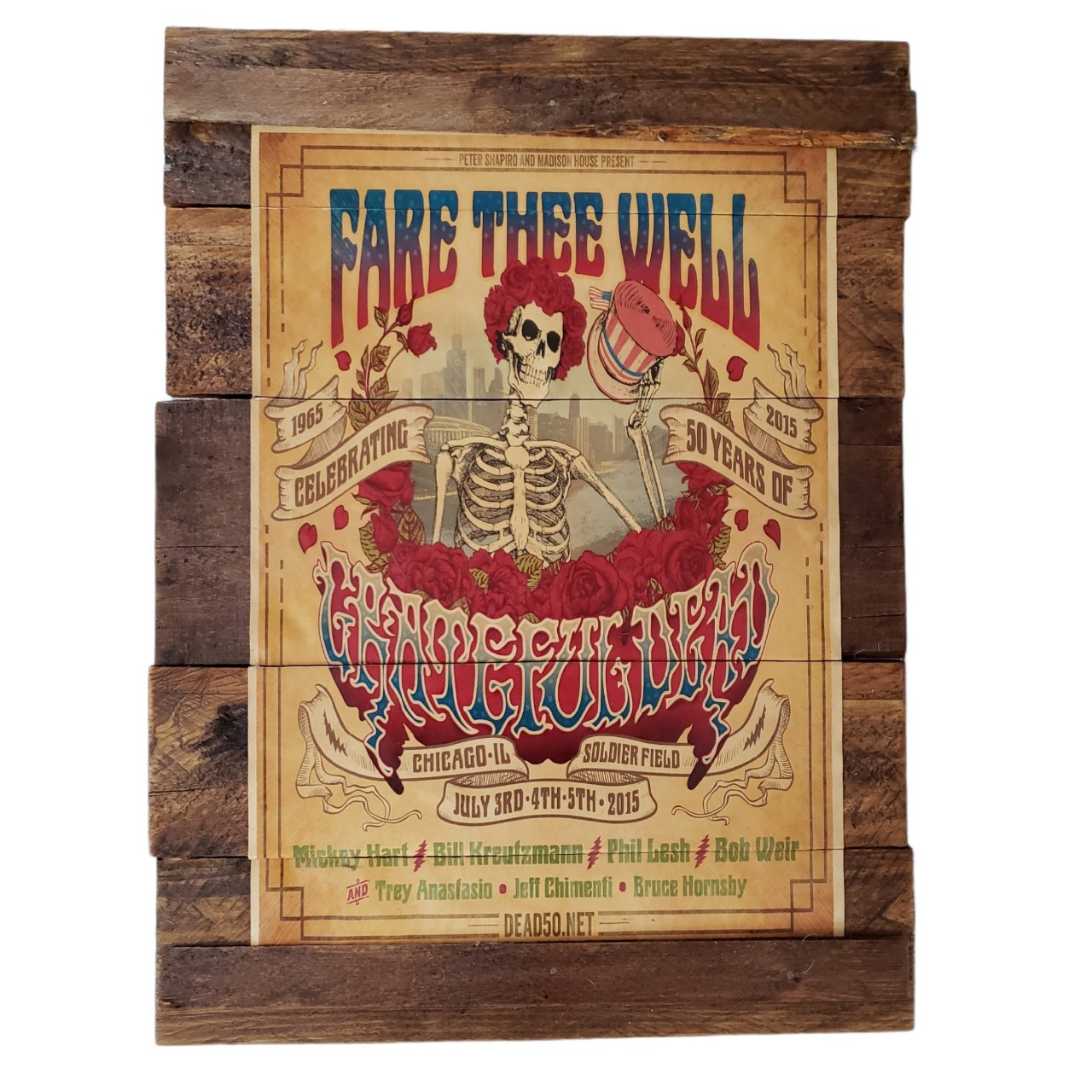 Product Image 1 - Grateful Dead Decoupage on Reclaimed