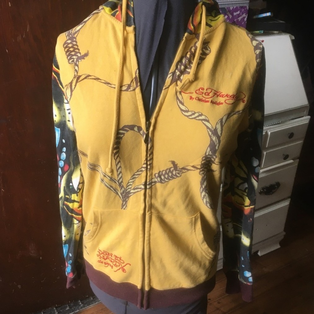 Product Image 1 - Ed Hardy yellow & brown