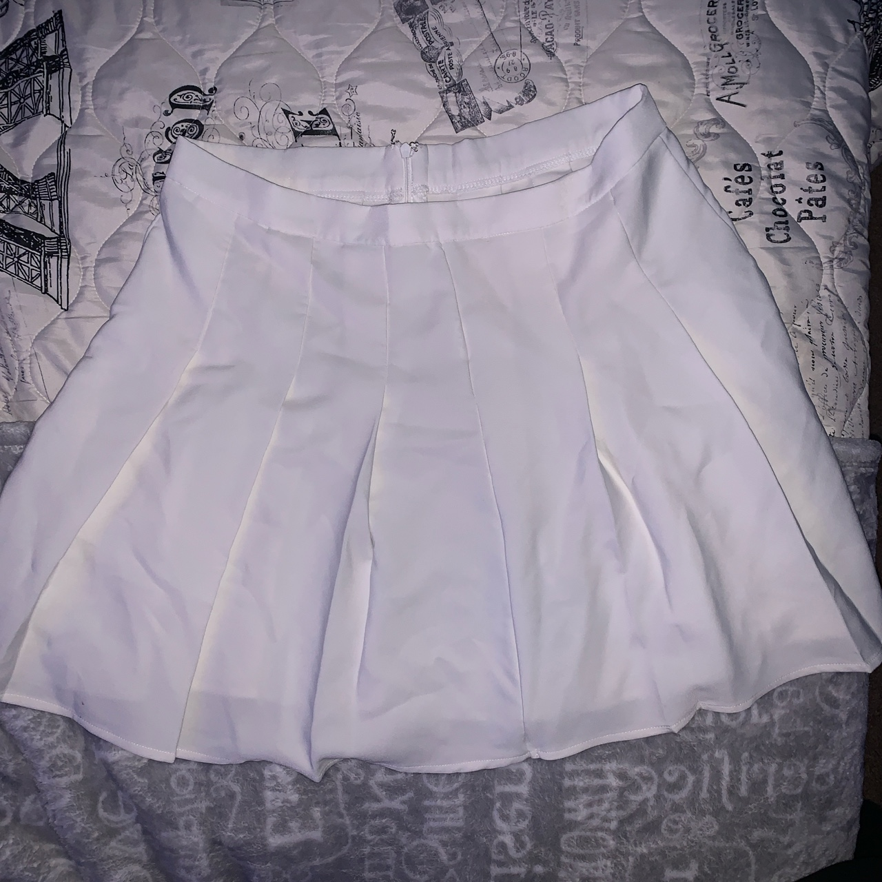 Product Image 1 - Shein white tennis skirt !  Size