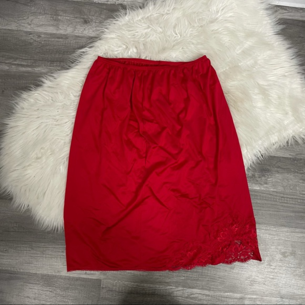 Product Image 1 - Vintage Red Skirt Slip with