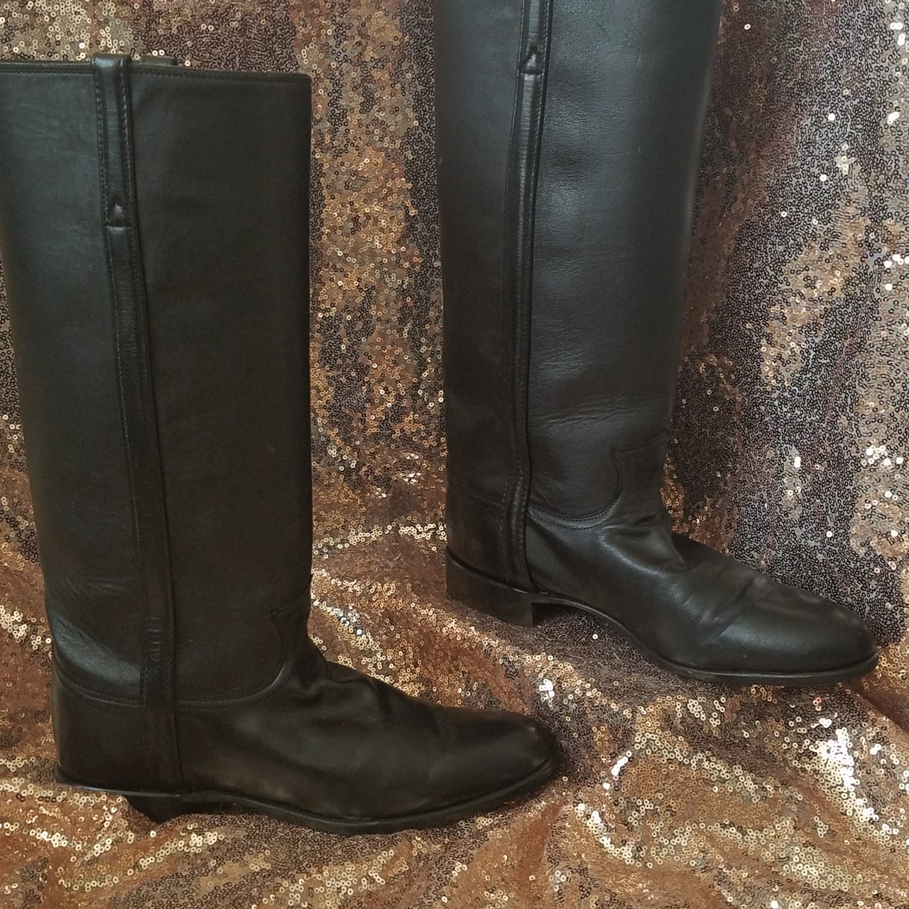 Product Image 1 - Justin boots tall black cowgirl