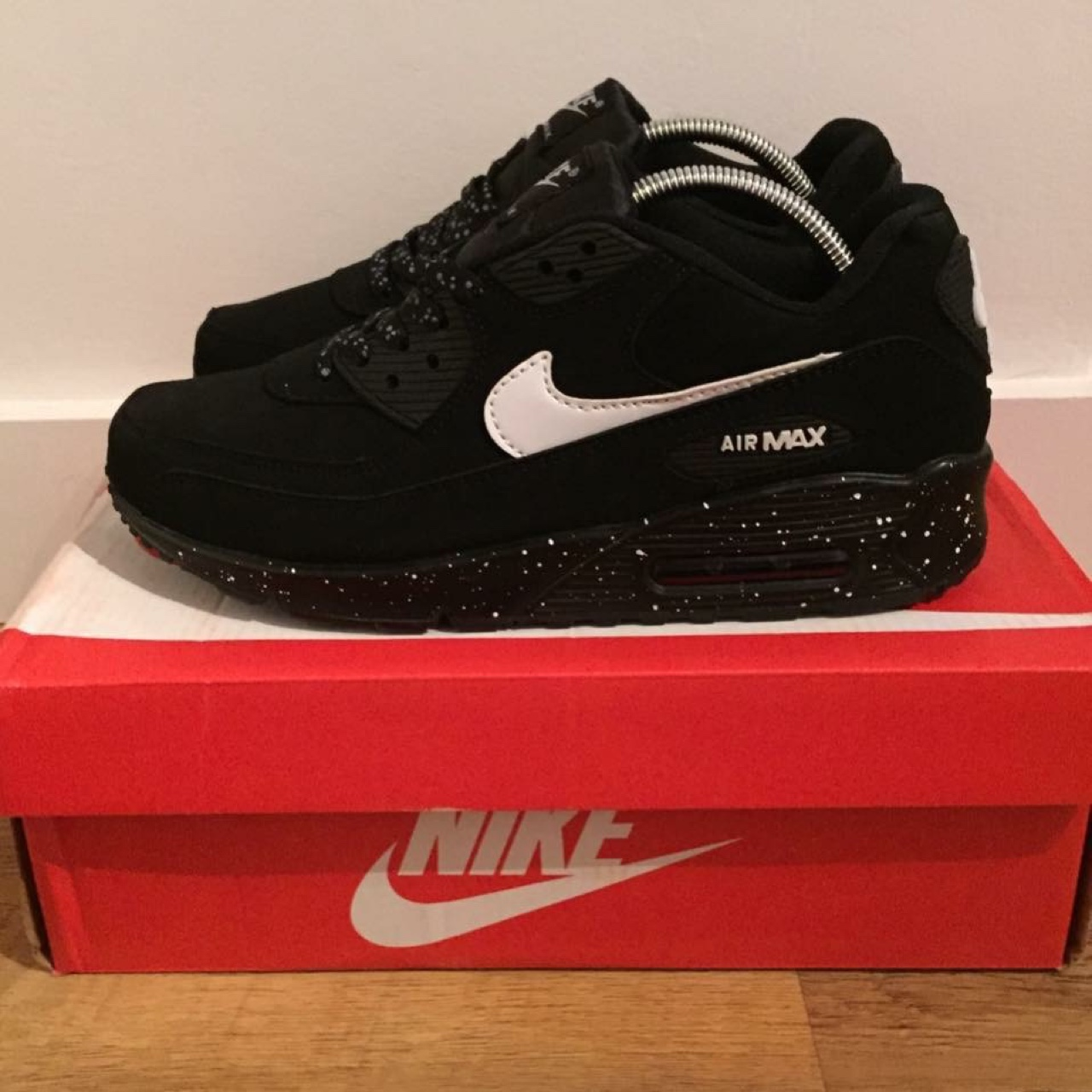 Nike Air Max 90. Limited Edition Speckle Size 9 £40... - Depop