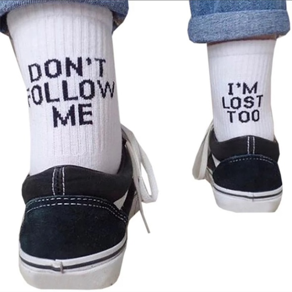 """Product Image 1 - """"Don't follow me I'm lost"""