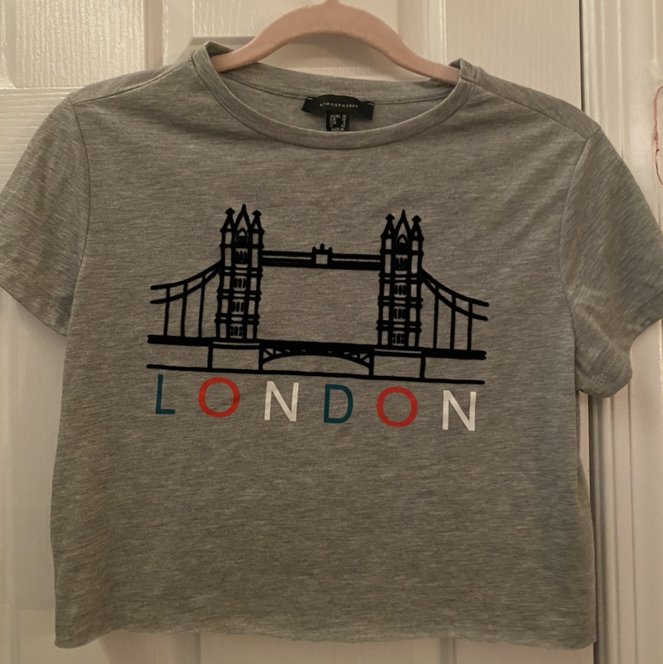 Product Image 1 - London Crop Top  💌Cropped by me