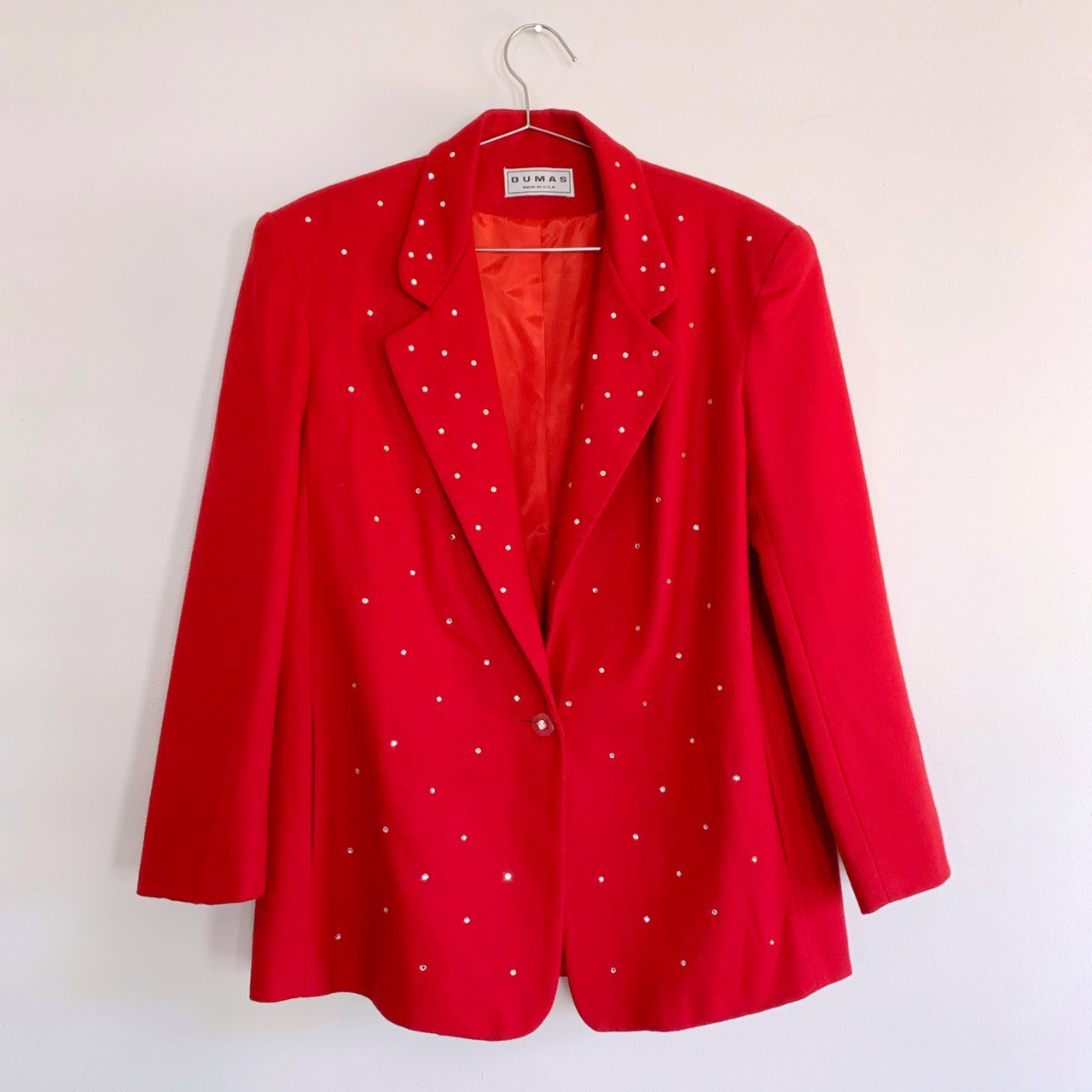 Product Image 1 - **PRICE REDUCED FROM $32** 80s Rhinestone