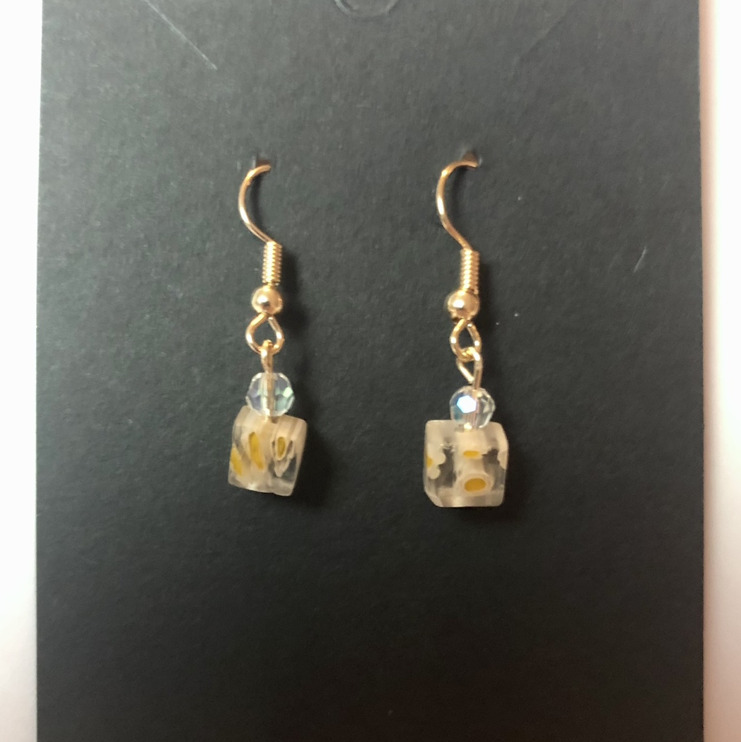 Product Image 1 - Handmade gold wire earrings! Small