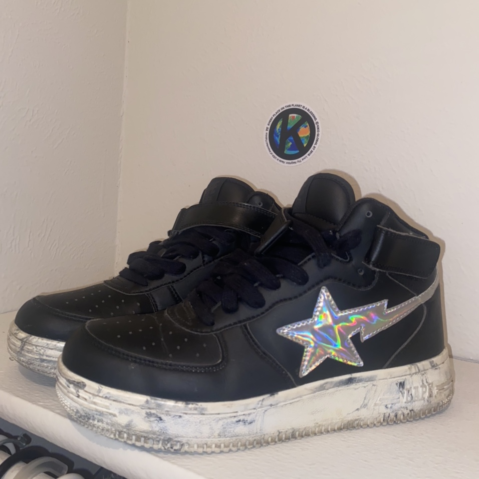 Product Image 1 - Marble Bapesta Mid shoes