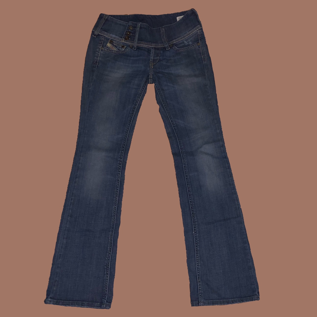 Product Image 1 - 🌸LOW RISE FLARE DIESEL JEANS  🌸size