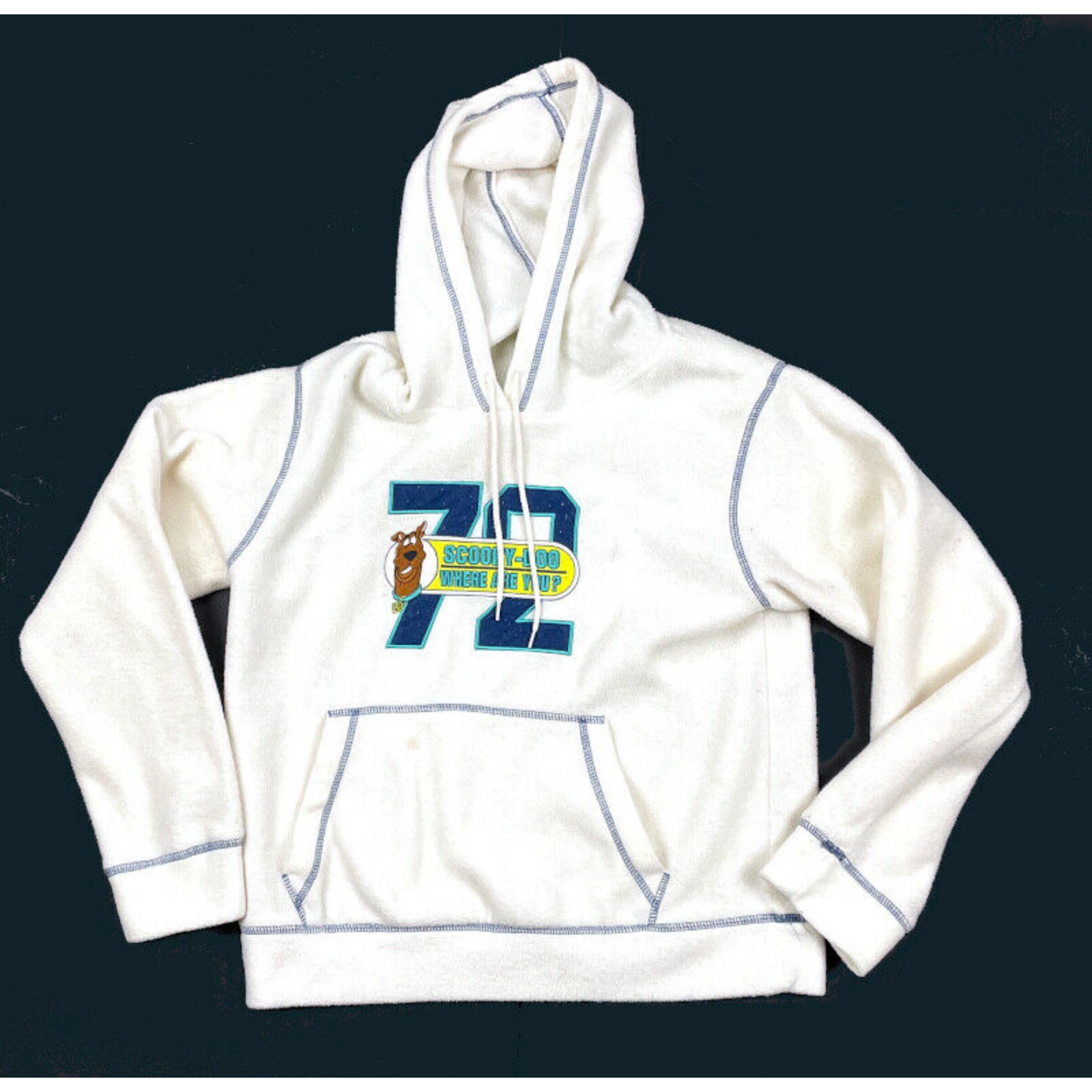 Product Image 1 - 2003 Scooby-Doo White Embroidered Fleece