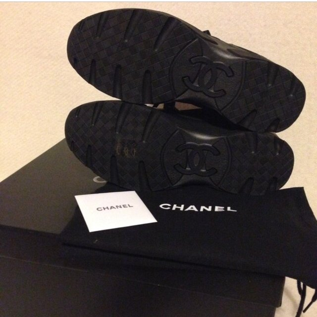 Chanel Cruise 2015 Sneakers Cruise 2015 Black Sneakers
