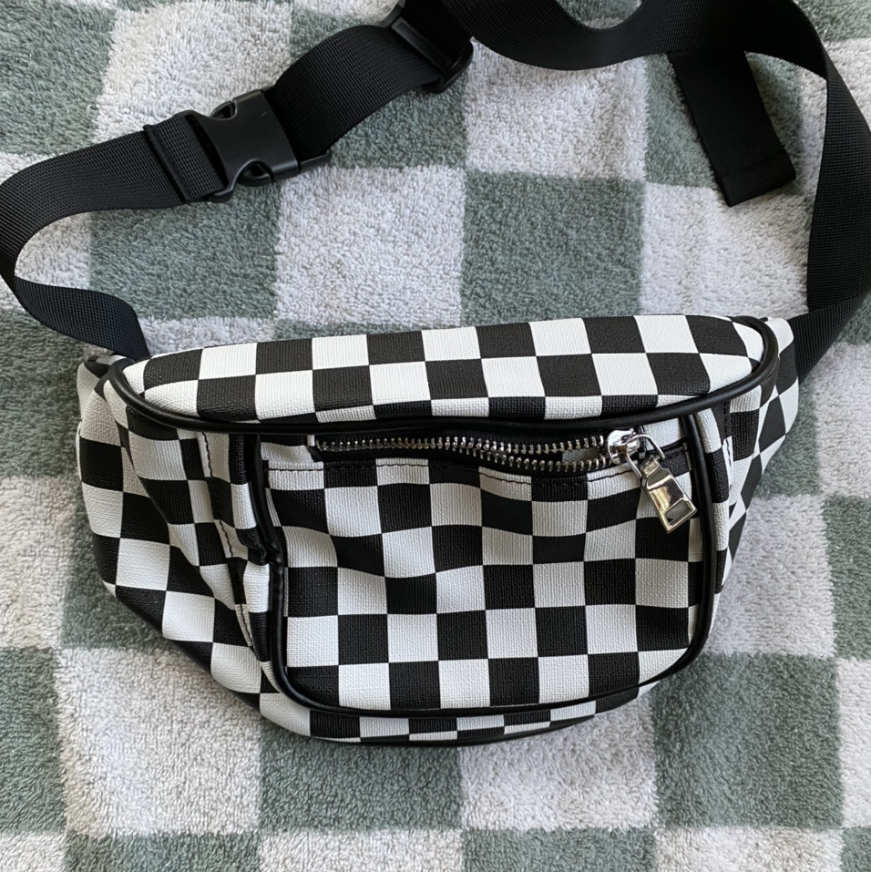 Product Image 1 - Black and white Checkerboard Fanny
