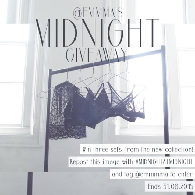 A little something to help you through the week and to celebrate the new midnight collection 🌌🌚 just repost this image with #midnightatmidnight to enter and win 3 sets of your choice from the collection! Runner up will also receive a set of their choice, check the second photo for the rules and the third photo for the full collection! MIDNIGHT will be available to order from the 1st