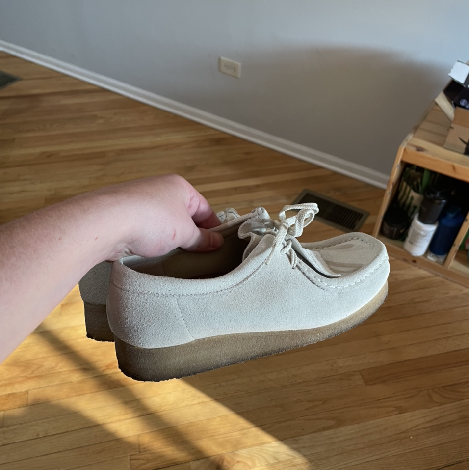 Product Image 1 - Clarks Wallabees sz 8 womens,