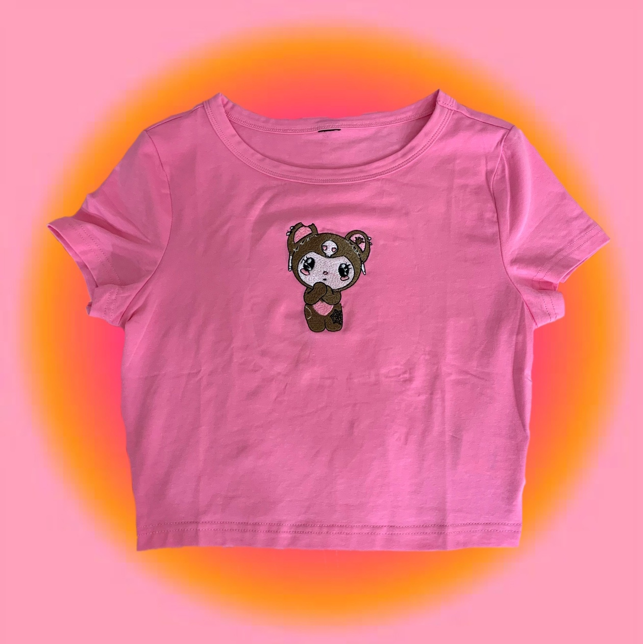 Product Image 1 - 🧸💗cutest pink crop top with