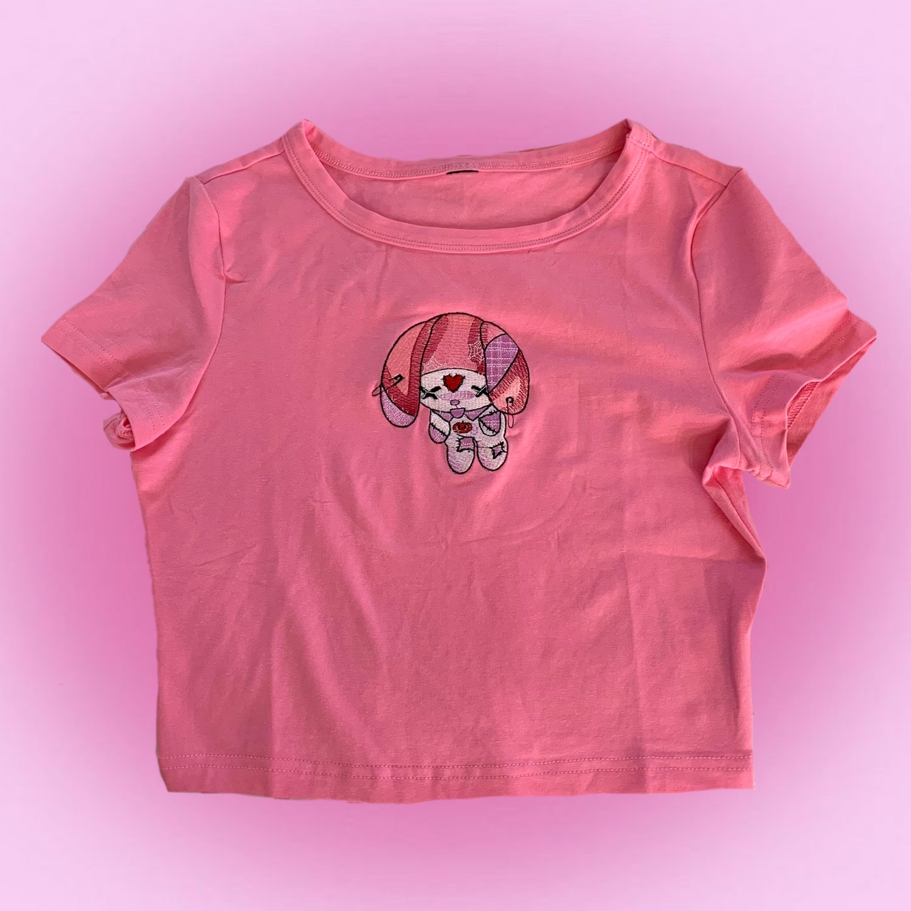Product Image 1 - 💗cutest pink crop top with