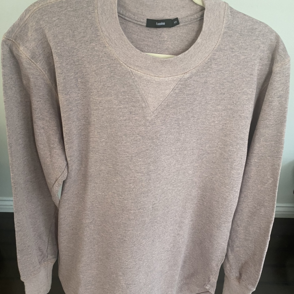 Product Image 1 - Bassike Pink Cotton Sweater  -