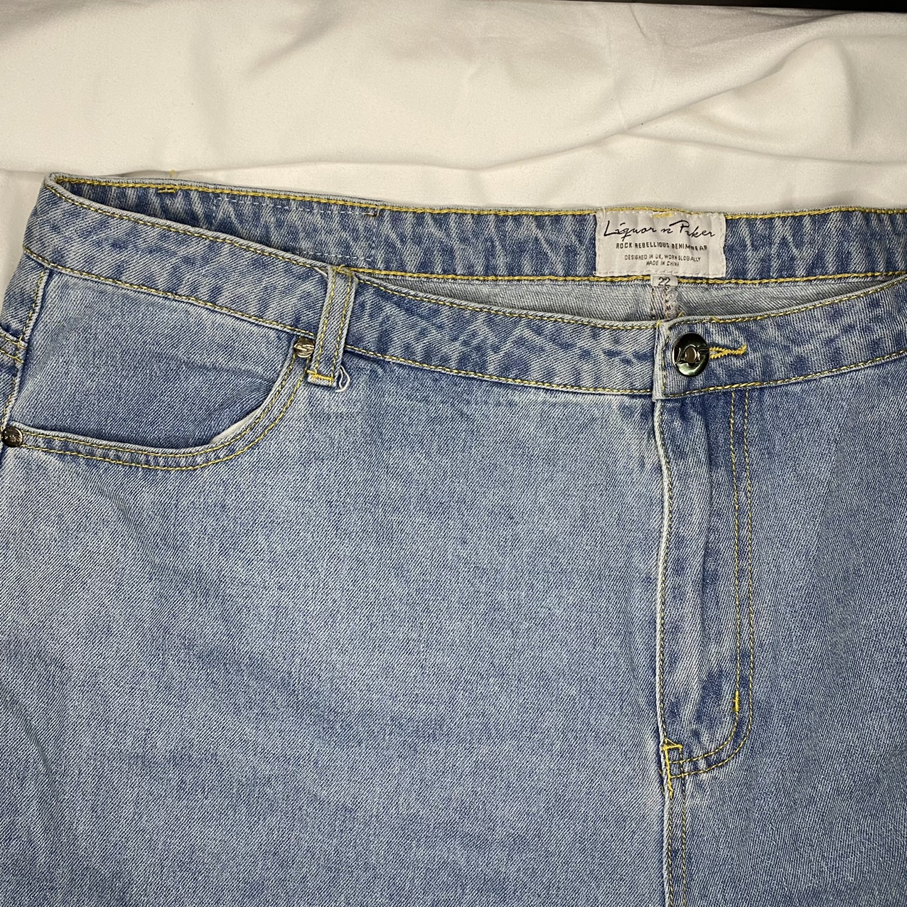Product Image 1 - stone high-rise mom jeans  -