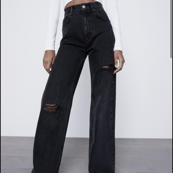 Product Image 1 - Zara full length jeans wide