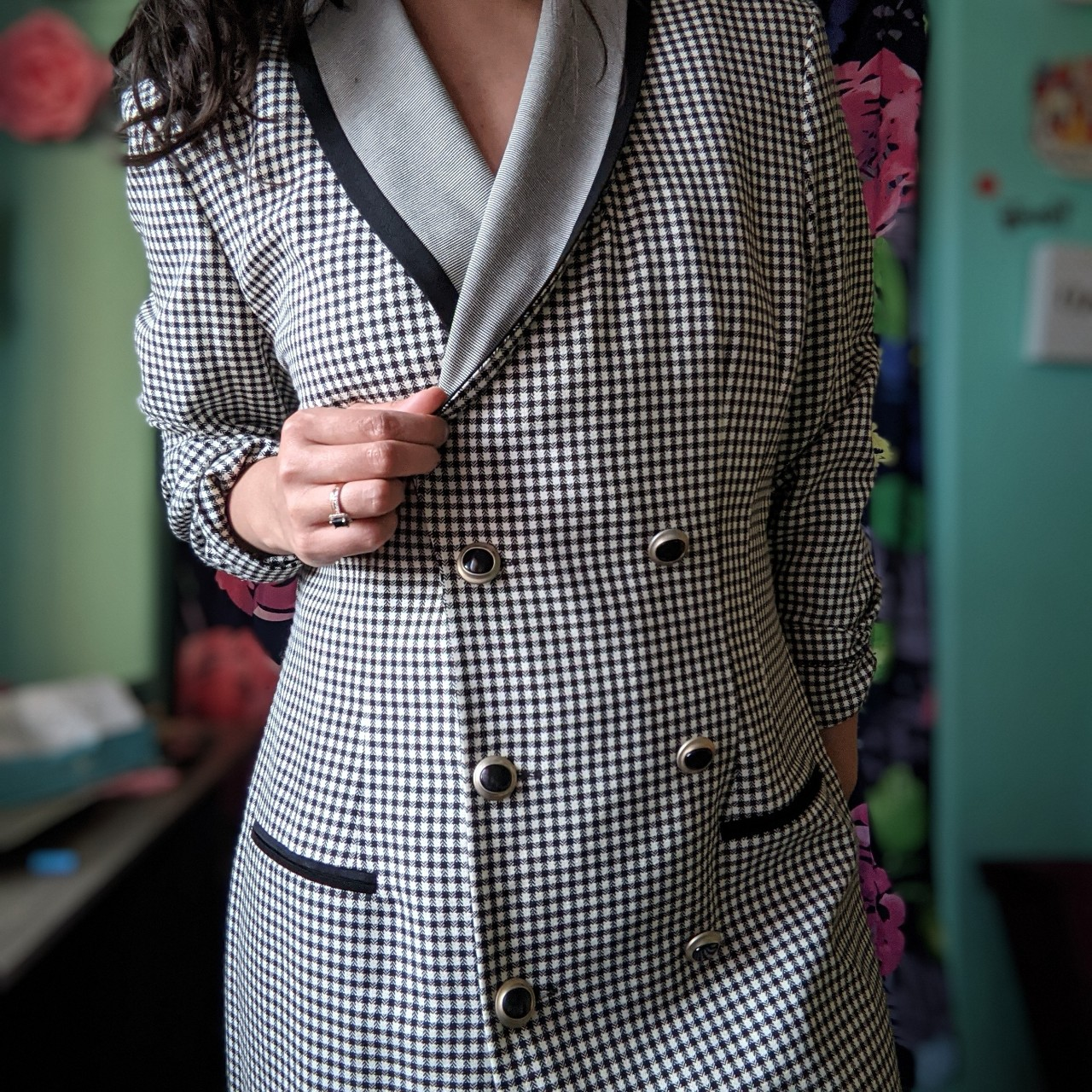 Product Image 1 - This Houndstooth piece from the