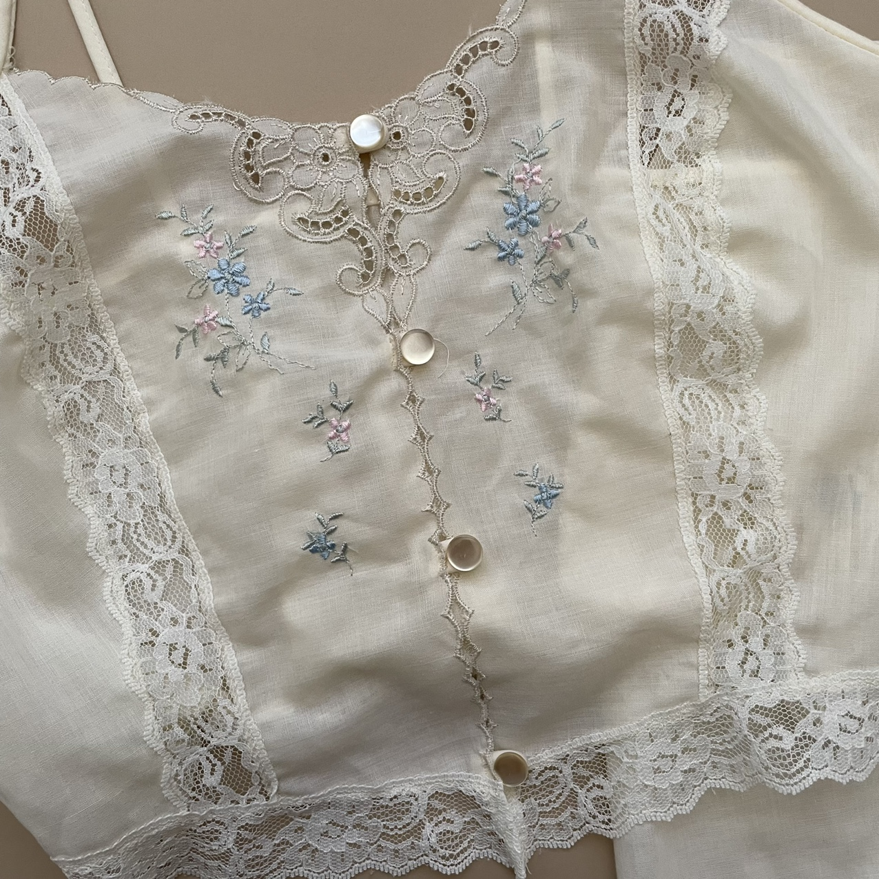 Product Image 1 - Vintage lace floral embroidered cami