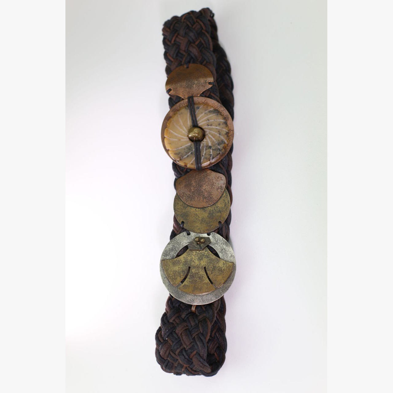 Product Image 1 - 1970's Braided Leather Marjorie Baer