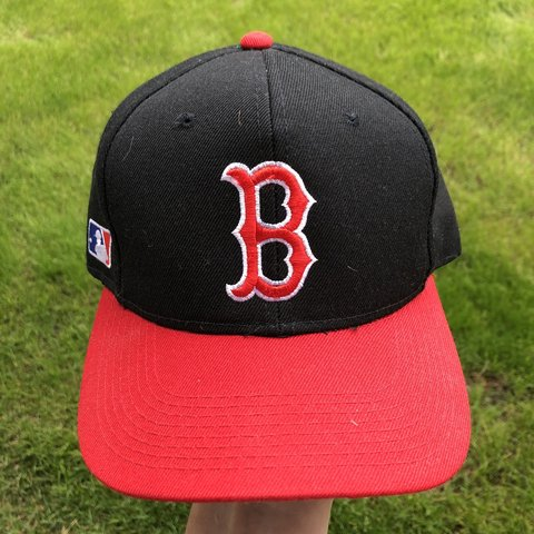 4b97a6b3e @not_a_hypebeast. last month. Plymouth, United States. Vintage sports  specialties Boston Red Sox snapback hat. Adult one size fits all