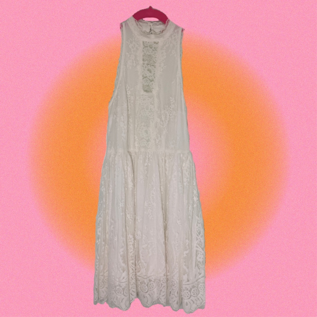 Product Image 1 - free people white lace high