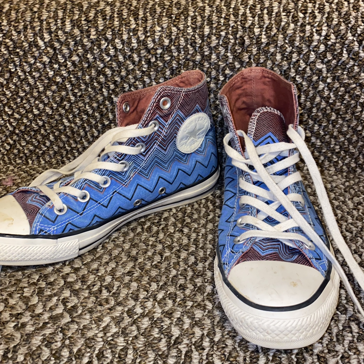 Product Image 1 - CONVERSE X MISSONI HIGH TOPS