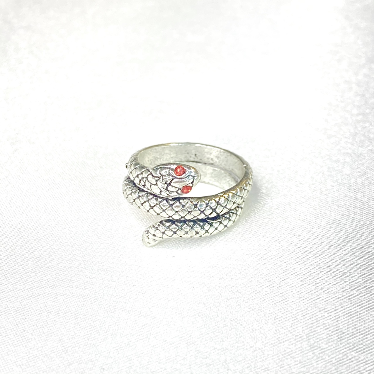 Product Image 1 - Red Eyed Snake Ring   ꕥ