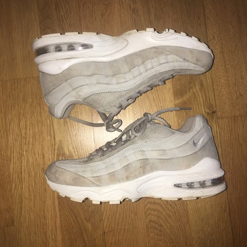 50bf91e383 @katieluton. yesterday. Manchester, United Kingdom. Size 5 Nike Air max 95s  light grey , fairly good condition