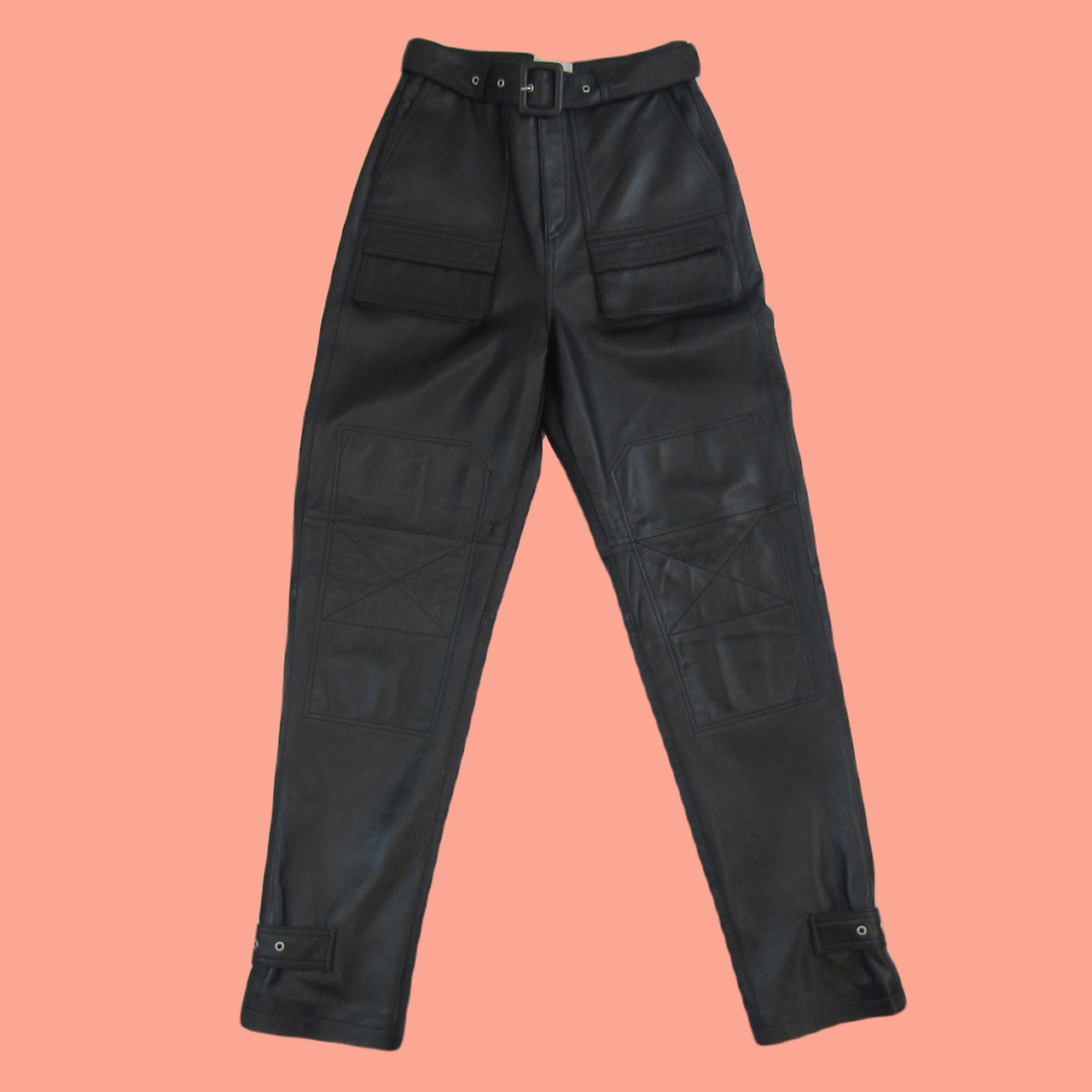 Product Image 1 - Ducie London Black Leather Trousers