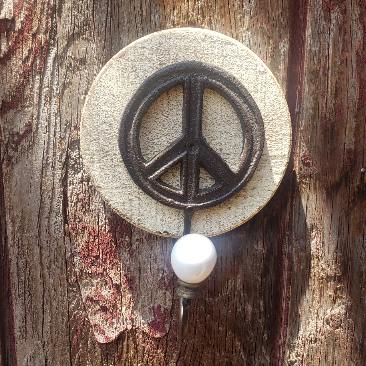 Product Image 1 - This peace sign coat hanger