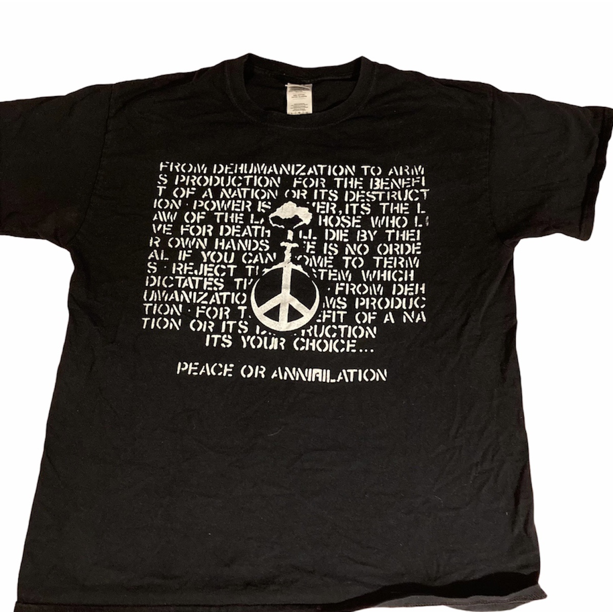 Product Image 1 - Crucifix! Nicely worn unofficial shirt