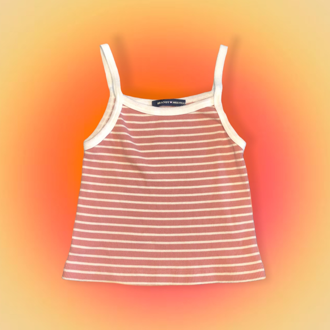 Product Image 1 - striped brandy melville belle tank