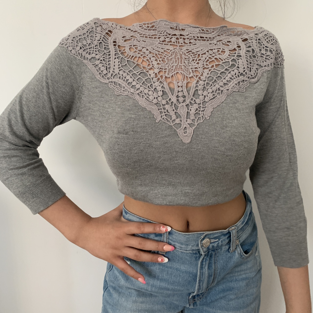 Product Image 1 - FOREVER 21 GREY SHIRT WITH