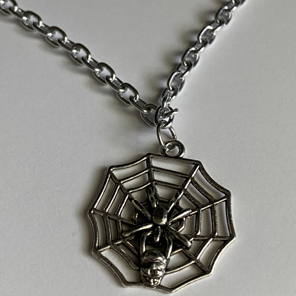 Product Image 1 - spiderweb necklace  ★ 17 inch long