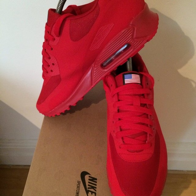 3f8e42f8df low cost air max 90 independence day red replica be444 392cf