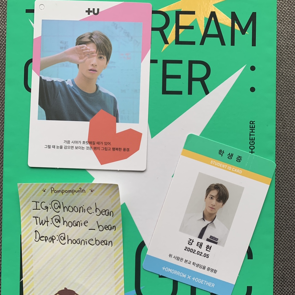 Product Image 1 - WTT  Have: TXT Dream chapter:Magic Taehyun🟢  Dream chapter:Magic Taehyun