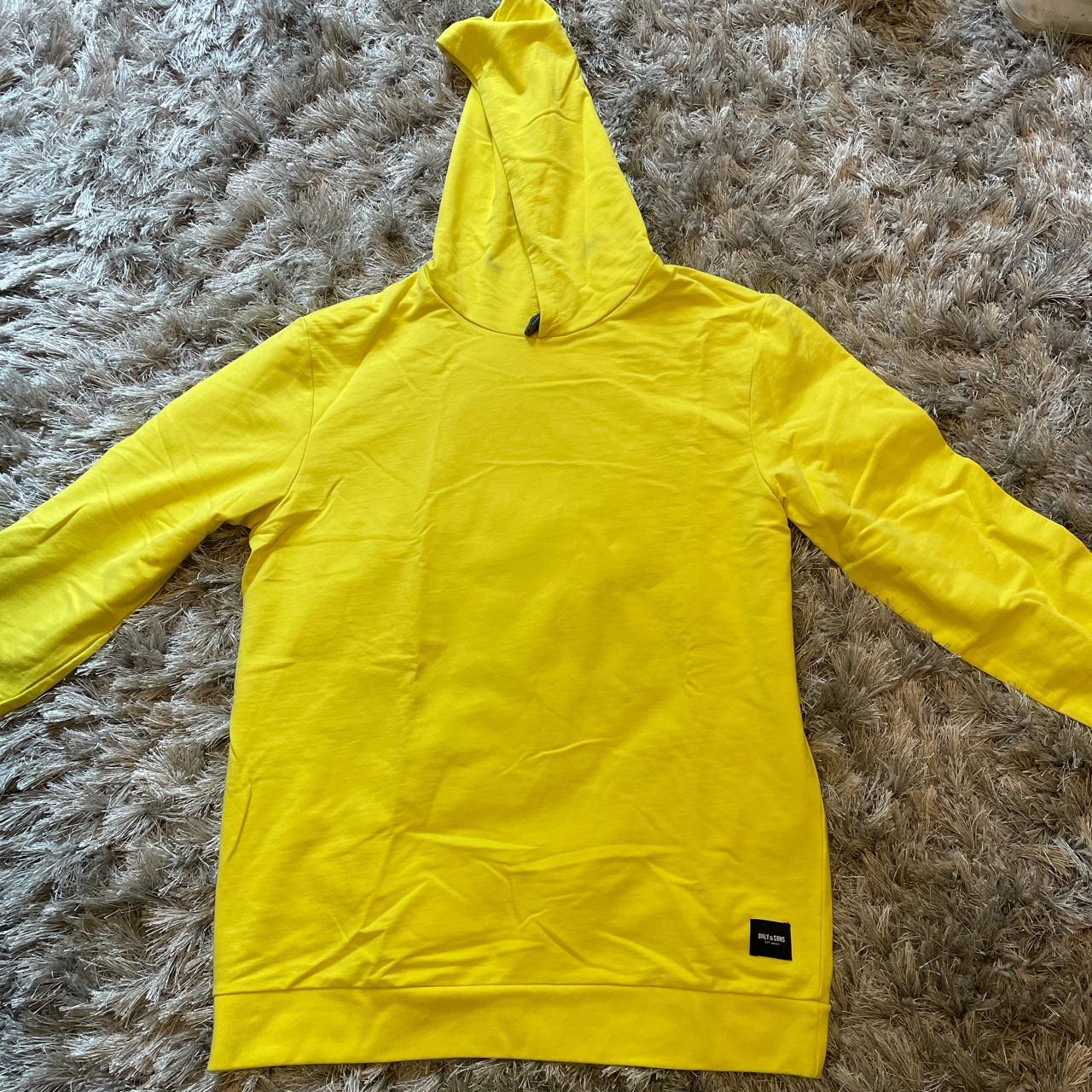 Product Image 1 - Yellow only & sons hoodie.